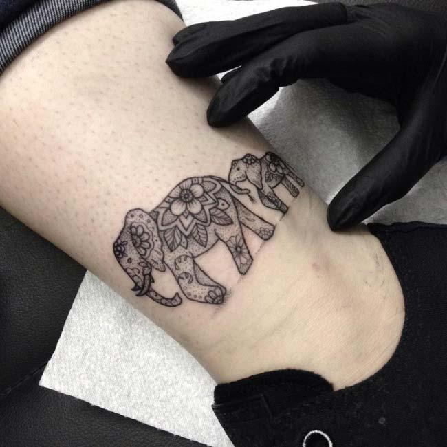 fil dövmesi ve anlamı