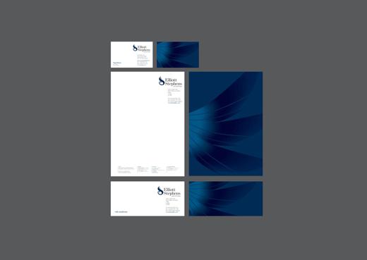elementos de papeleria corporativa