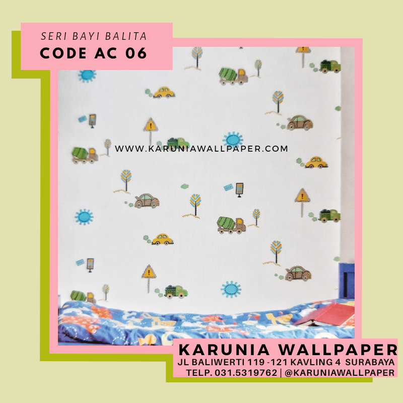jual wallpaper dekorasi dinding bayi