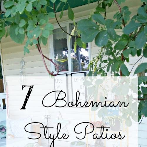 7 Drool Worthy Bohemian Style Patios You'll Love!