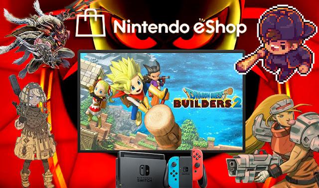 Nintendo downloads: construindo e batalhando em Dragon Quest Builders 2