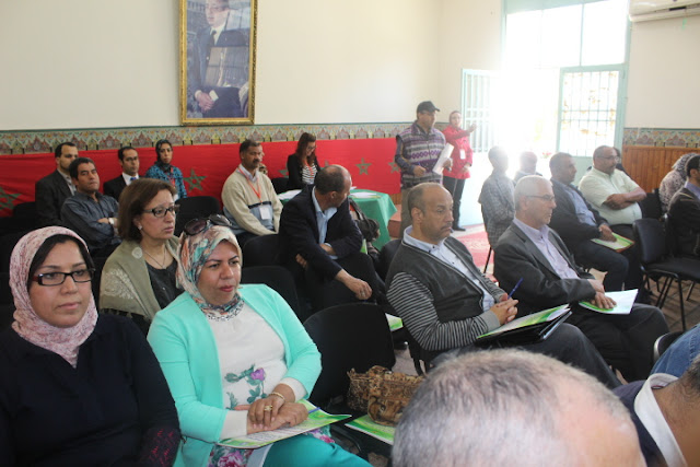 """المديرية الإقليمية للوزارة بفاس تنظم يوما دراسيا تحت شعار """"نحو مقاربة تشاركية من أجل بيئة تربوية خالية من العنف بالوسط المدرسي"""""""