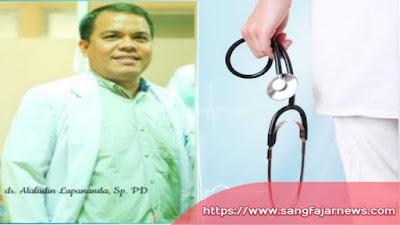 STRATEGI PENANGANANCOVID-19  Oleh : Dr. Alaludin Lapananda,SpPD
