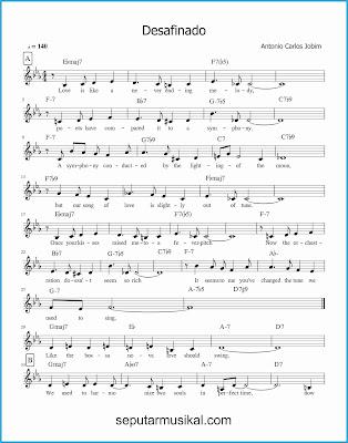 desafinado 1 lagu jazz standar