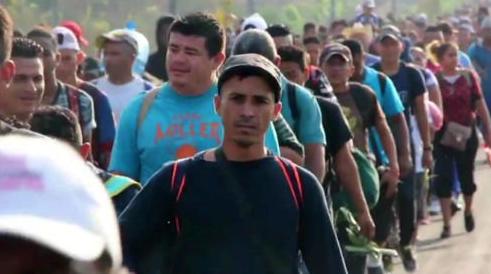 'Evidence' Americans funding migrant caravan