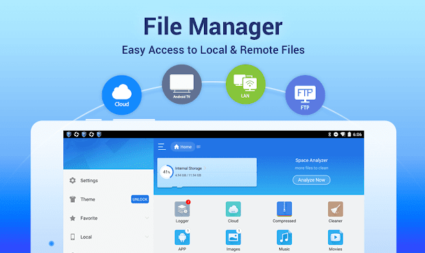 ES File Explorer free download for Android Latest 4.2.4.6.3