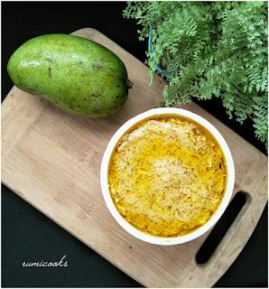 Aam Kasundi / Mango and Mustard Sauce