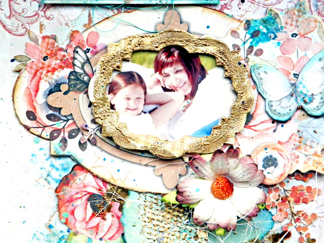 Make your dreams happen layout by Lisa Novogrodski for Scraps of Elegance using the July kit Sunshine and Sweet Tea