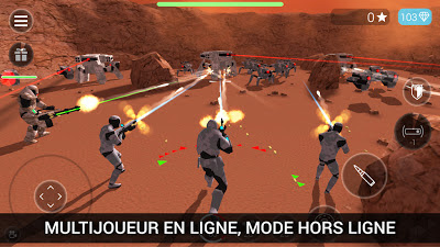 Télécharger CyberSphere: TPS Online Action-Shooting Game mod