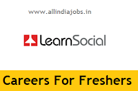 LearnSocial Careers For Freshers