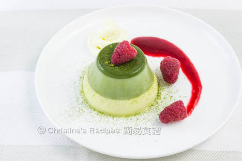 抹茶奶凍 Green Tea Panna Cotta02