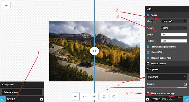 Tutorial kompres gambar secara online