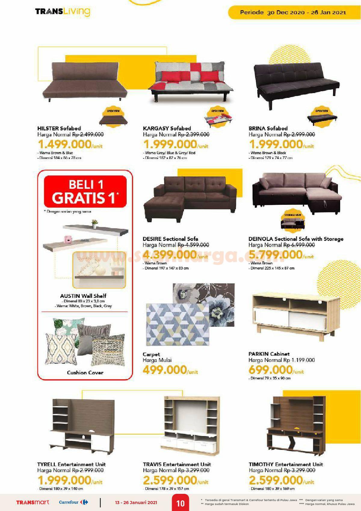 Katalog Promo Carrefour Transmart 13 - 26 Januari 2021 10