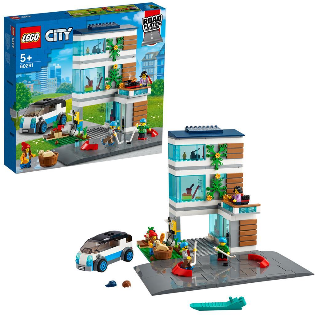 レゴ(LEGO) シティ モダンハウス 60291