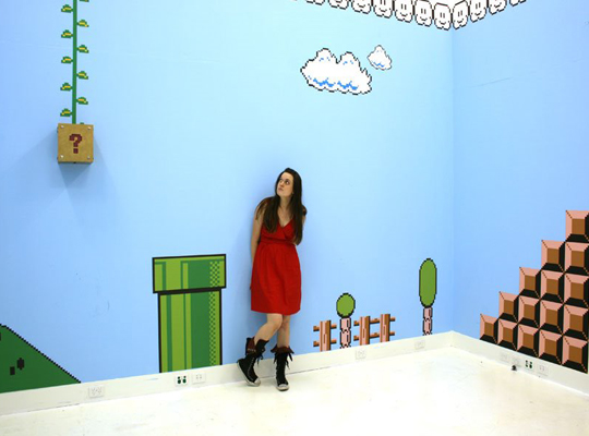 Real Mario Kids Room
