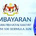 BPR Tambahan RM 500 Mula Dibayar Pada Hujung Jun