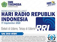 Ucapan Selamat Hari Radio Republik Indonesia