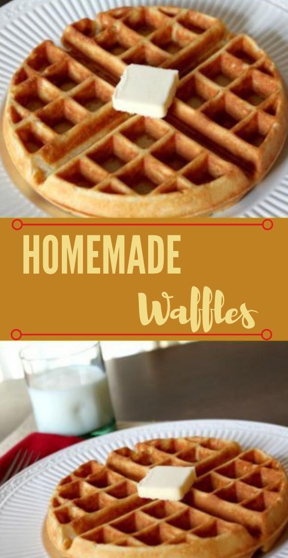 Homemade Waffle #homemade #dessert #yummy #cake #cookies