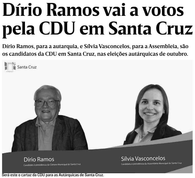 PSD apresenta segunda candidatura por Santa Cruz