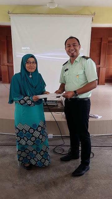 Ceramah PT3 Sains di SMK Tun Sharifah Rodziah