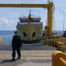 Seluruh Penumpang Kapal Di Pelabuhan Jangkar Terangkut, KSOP Panarukan Apresiasi Sinergitas Antar Instansi