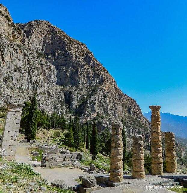 Monte Parnaso e Sítio Arqueológico de Delfos, Grécia