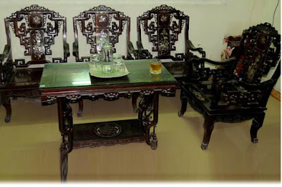 bàn ghế gỗ trắc giá rẻ