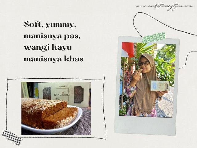 soft gandjelrel by toasty deli enak
