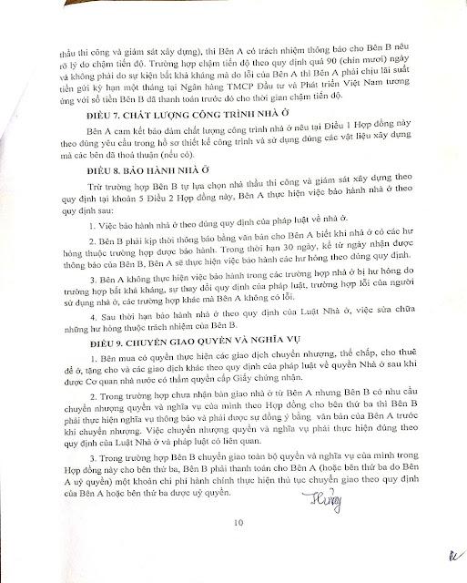 Trang 10 - Hợp đồng biệt thự Thanh Hà Cienco 5