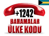 +1 242 Bahamalar ülke telefon kodu