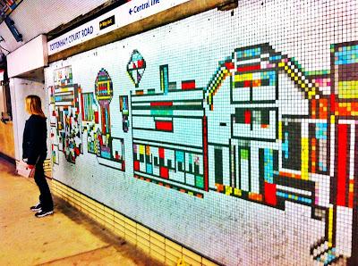 London Underground metro Tube