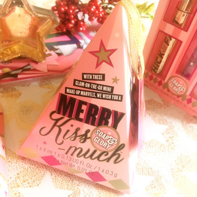 Soap and Glory Merry Kiss-Much Gift Set
