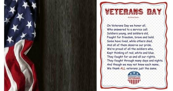 Veterans Day Poems, Veterans Day Greeting Card Poems 2020 ...