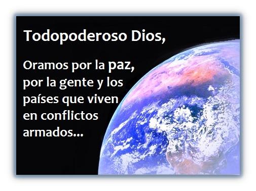 3 Oraciones sobre la Paz Mundial