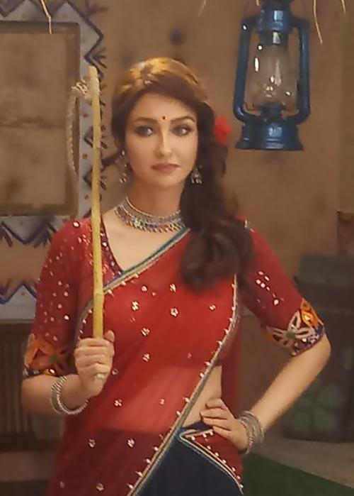 Saumya Tandon indian tv actress bhabhi ji ghar par ahin anita as basanti