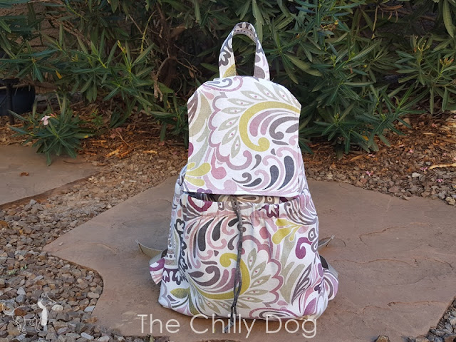 DIY Sewing Pattern and Tutorial: How to make an On the Go Backpack.