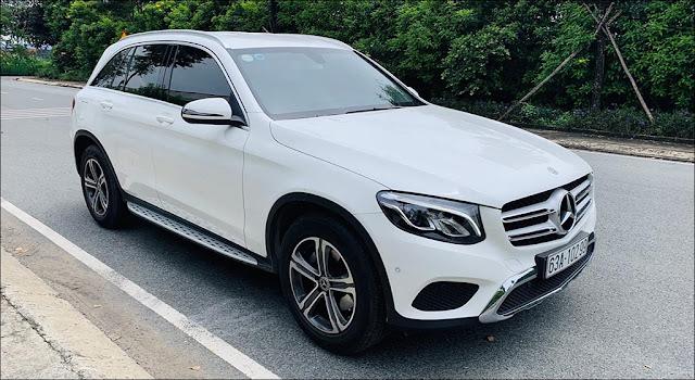 Mercedes GLC 200 2019 đã qua sử dụng màu Trắng nội thất Kem