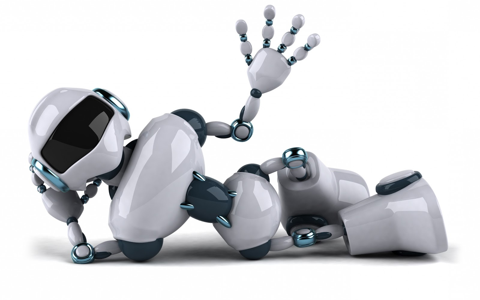 Ciberestética: Más Imágenes 3D De Robots Androides