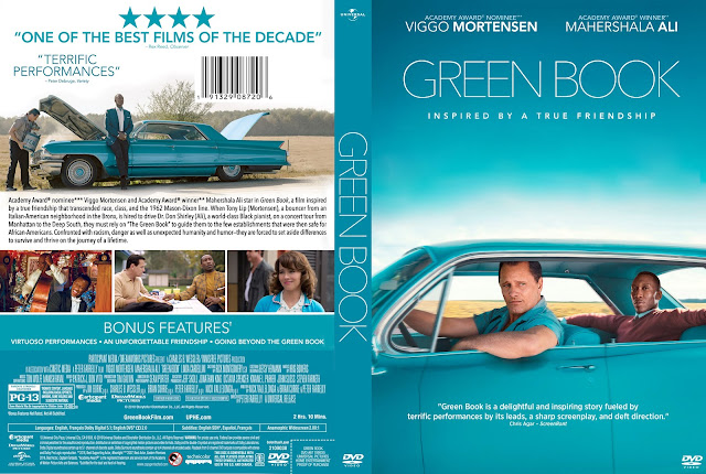 Green Book DVD Cover