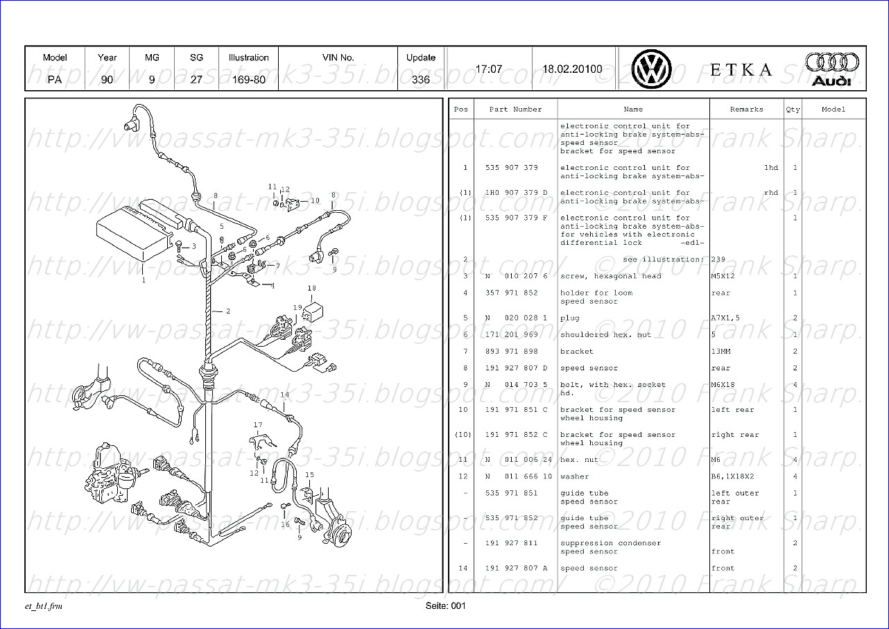 Fuse Box Diagram For 2010 Vw Cc | Wiring Library