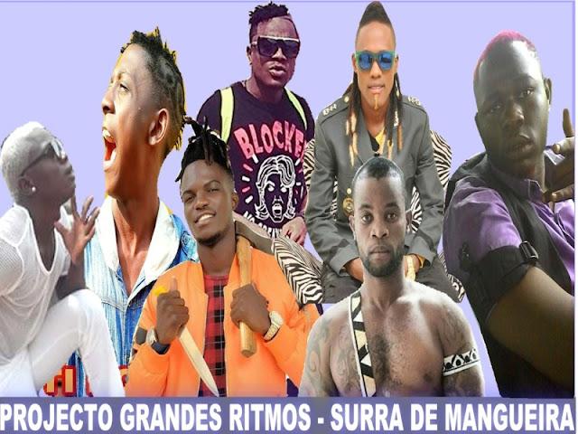 100 Barras, Pai Gasilha, Faculdade de Rimas, V do Brilho, Pai Mungala, Sibem do Gueto & Ti Doura - Surra de Mangueira (Kuduro)