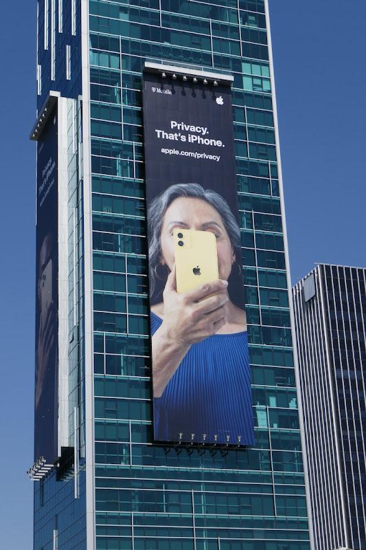 Apple Privacy iPhone billboard