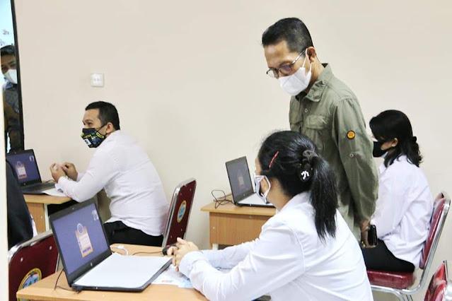 WAkil Walikota Batam Buks SKD Tingkat Kota Batam