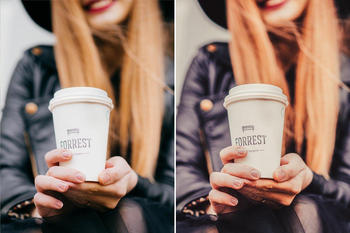 10 Cappuccino Mobile Presets (DNG, XMP)
