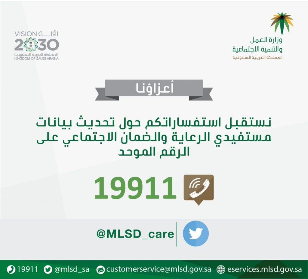 رقم الضامن الاجتماعي السعودي 2021