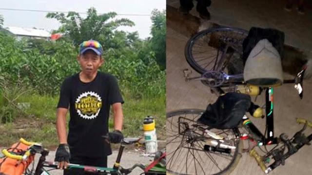 Kronologi Tewasnya Adi Winarso, Pesepeda yang Ditabrak Bus di Karawang