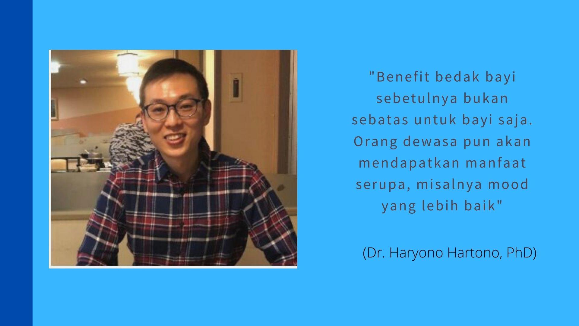 Dr. Haryono Hartono, PhD