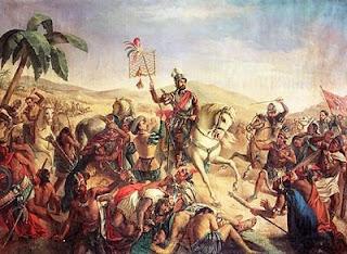 Batalla de Otumba: Aztecas contra los españoles