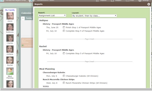 Review of Homeschool Planet homeschool planner from Homeschool Buyers Co-op