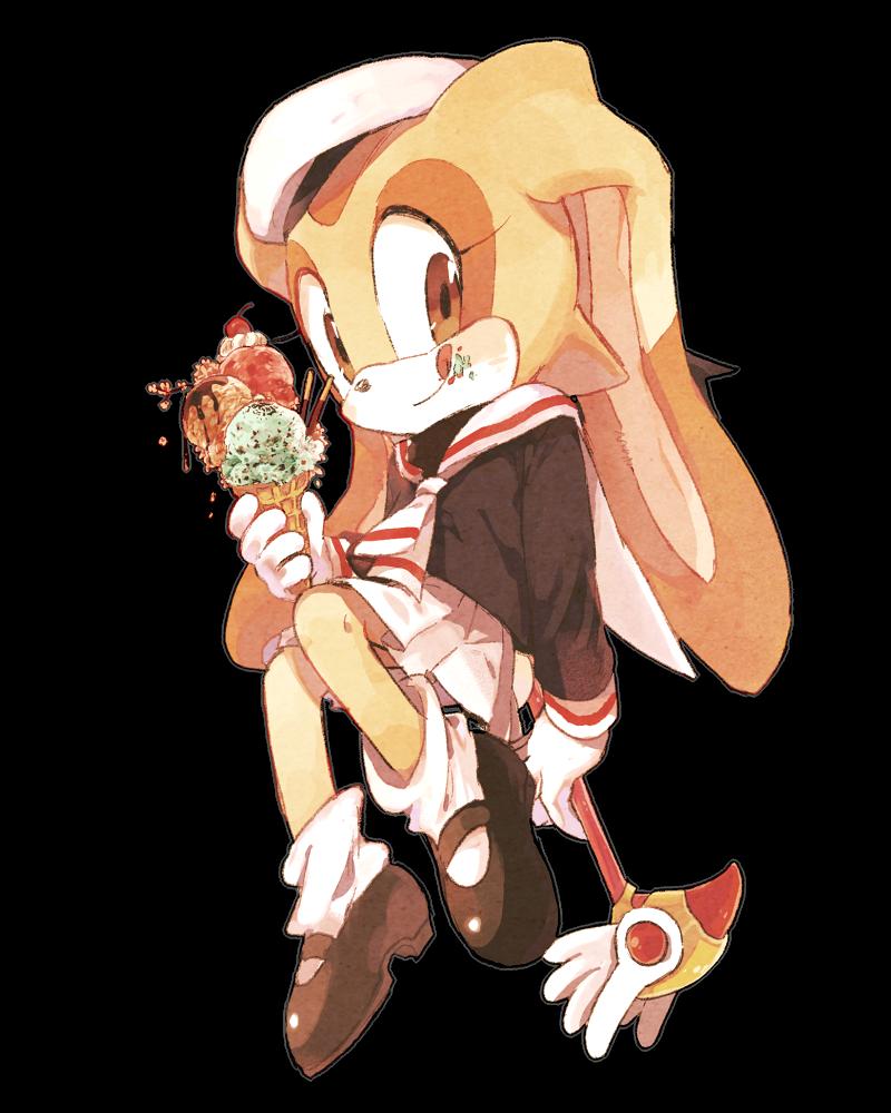 cream the rabbit  / sakura kinomto cosplay